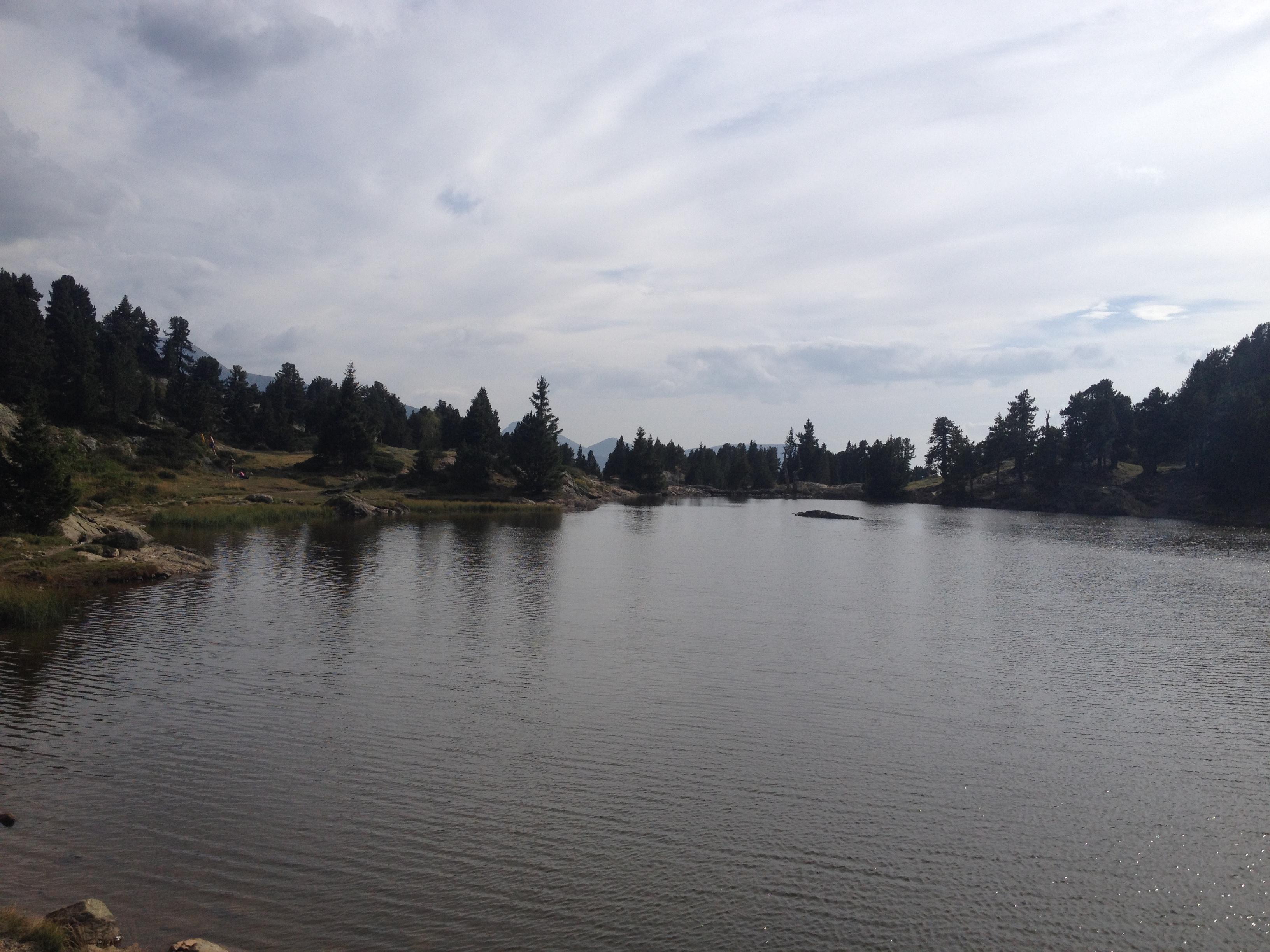 Lac de montagne sur Belledonne